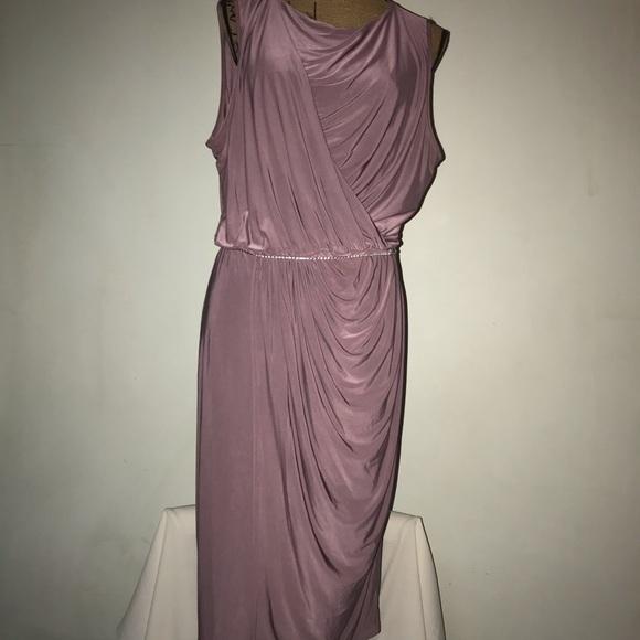 👗 Boohoo Lavender Slinky Bodycon Dress 👗
